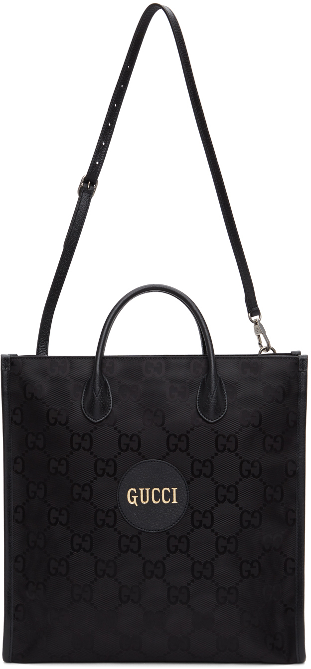 Black Off The Grid Long GG Eco Tote