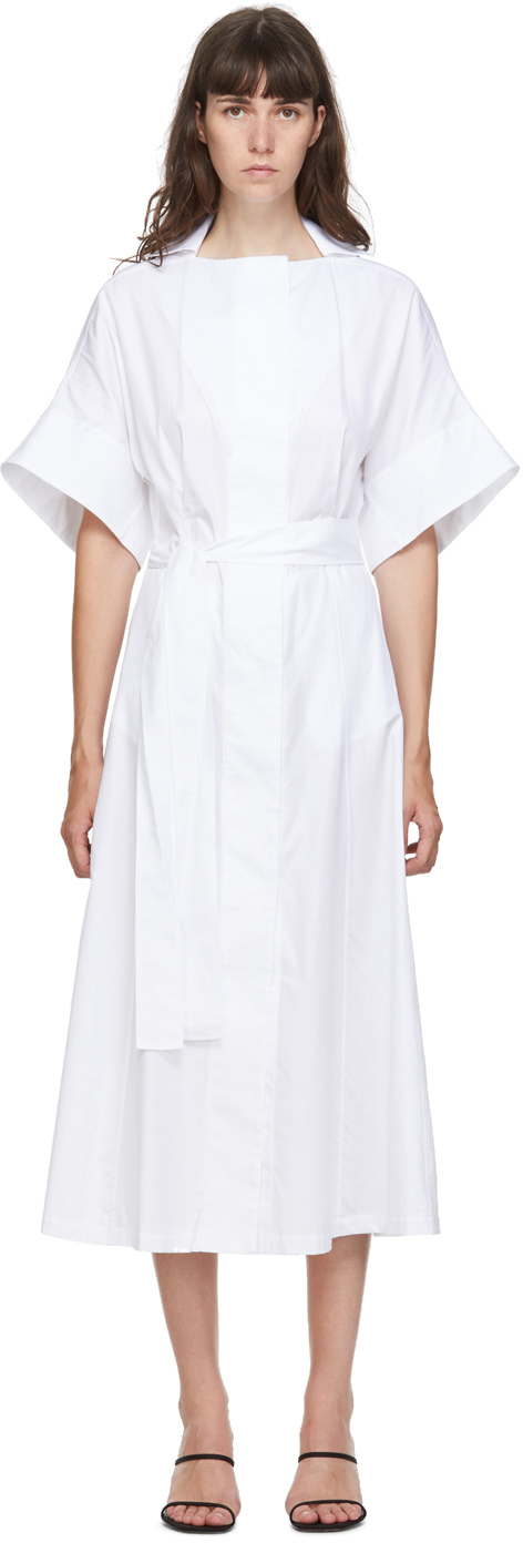 White 'The Shirt' Dress