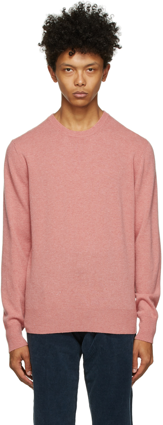 Pink Wool Appio Sweater