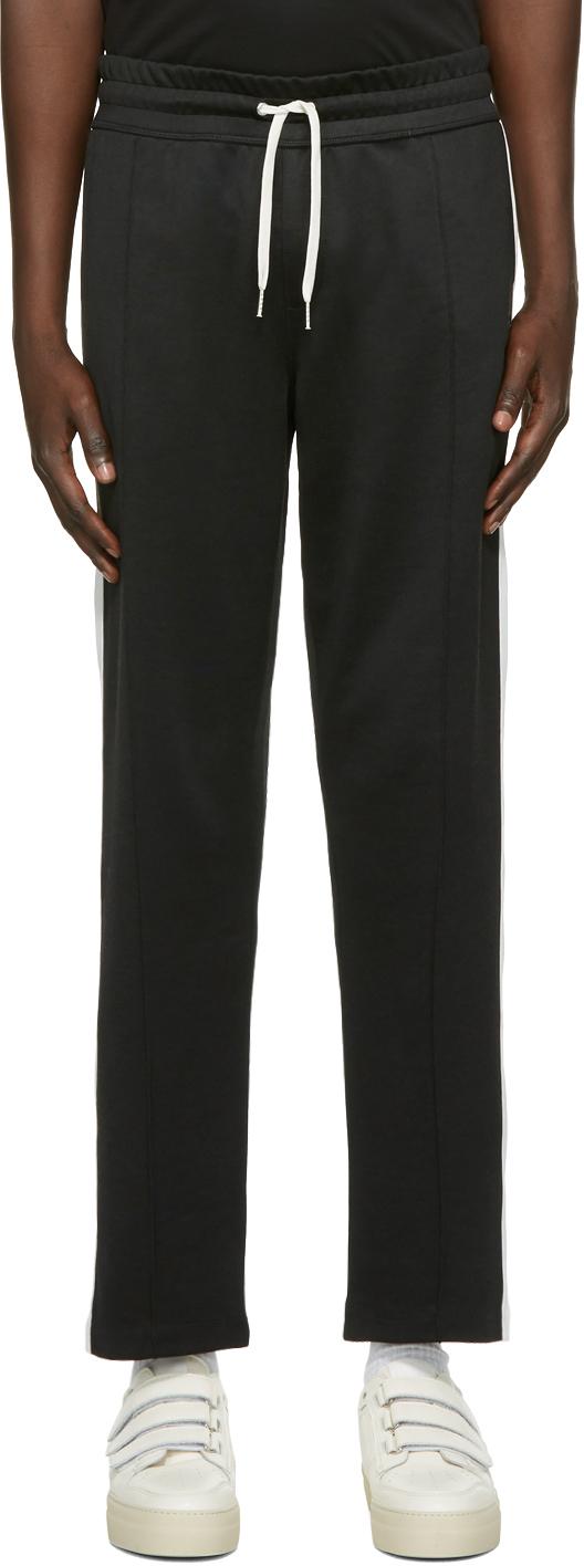 Black Ami Patch Track Pants