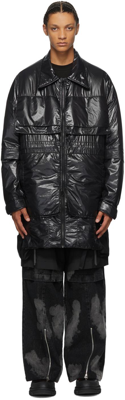 Black Padded Utility Jacket
