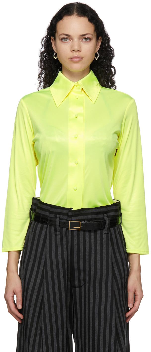 Yellow Fluid Shirt
