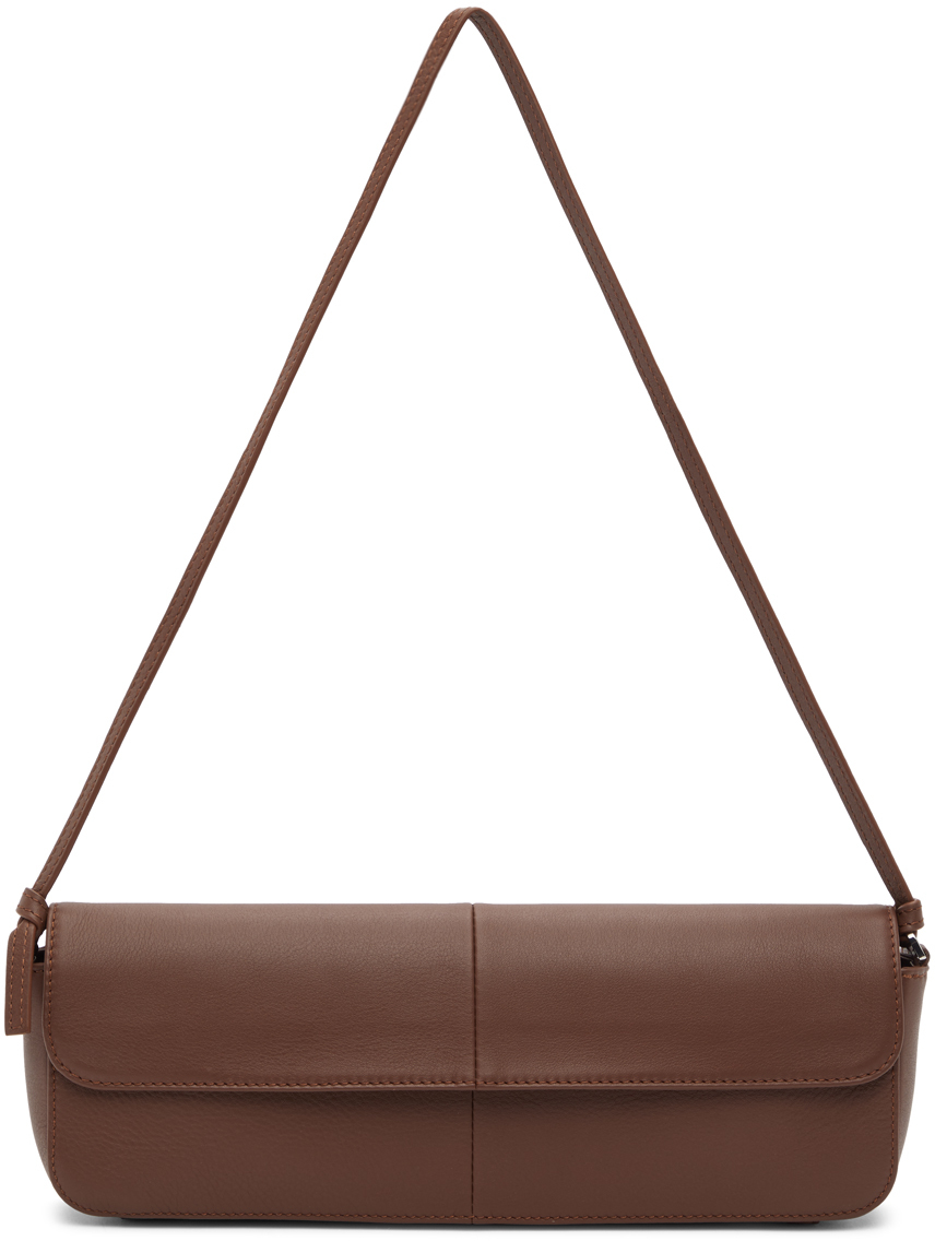 Abra Brown Big Baguette Bag 202526F048022