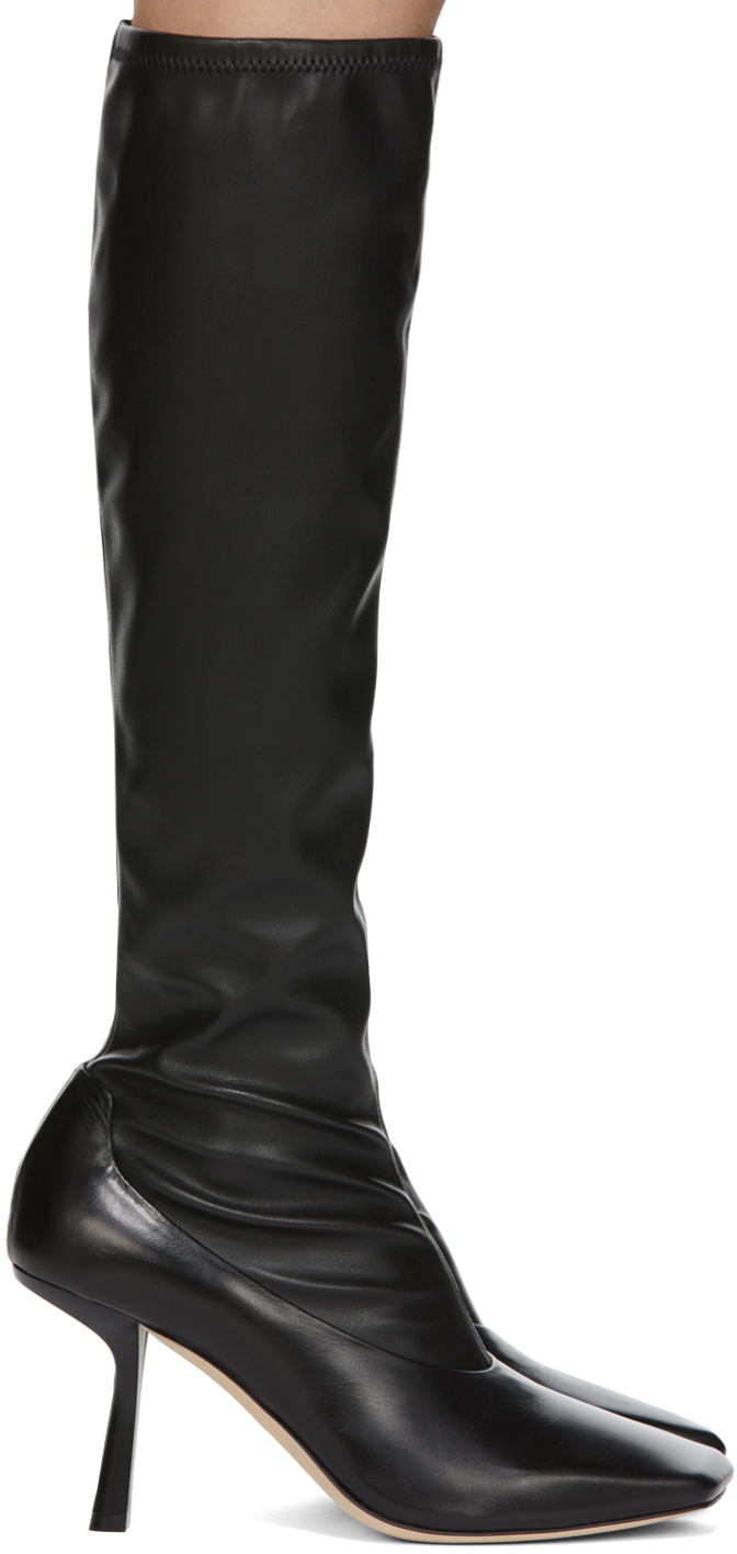 Jimmy Choo 黑色 Myka 高筒靴
