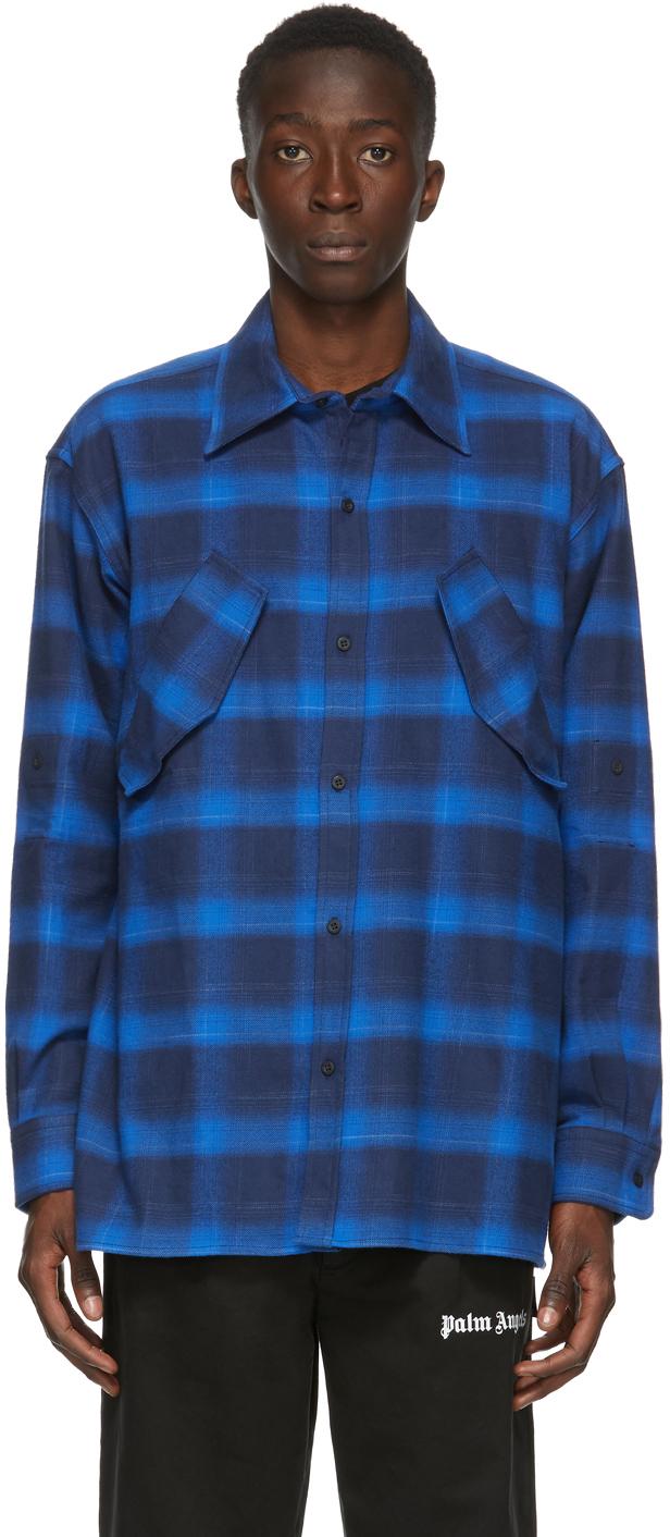 Blue CountyScript Shirt