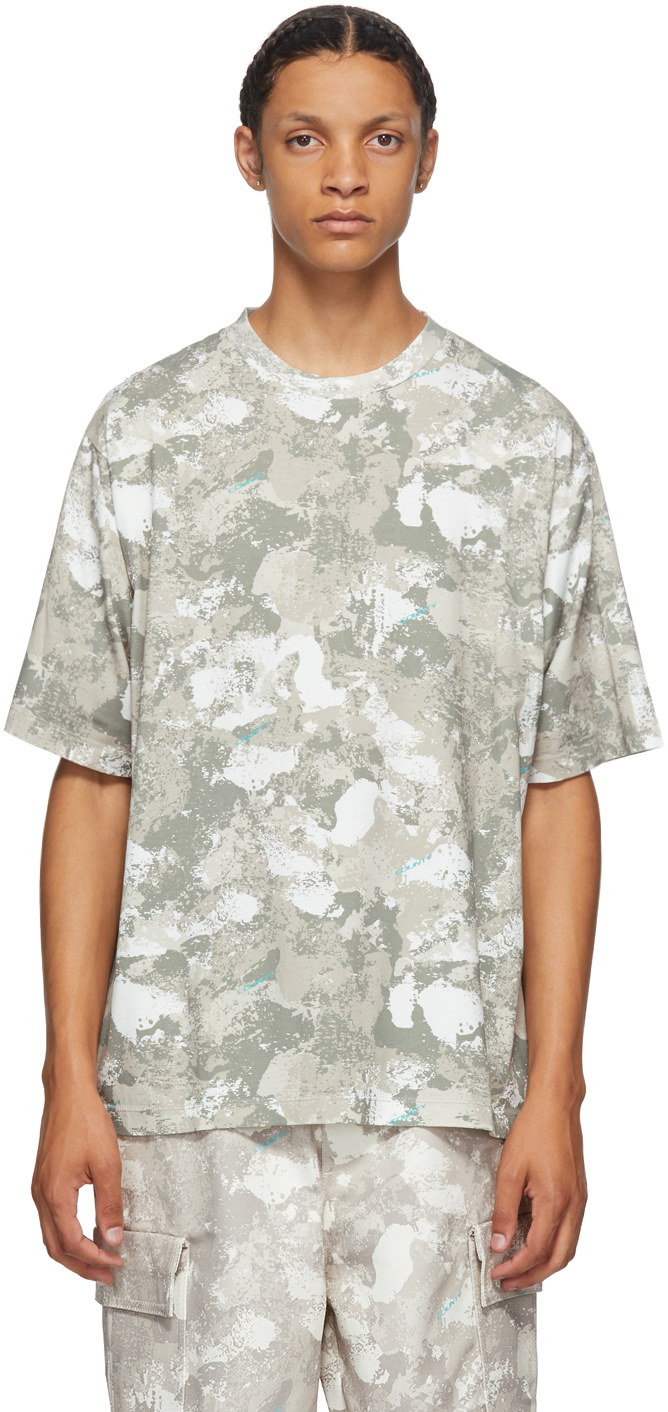Beige County Camou T-Shirt