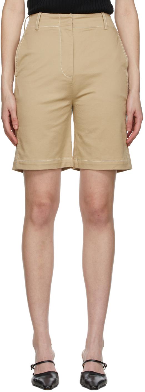 Beige Archie Shorts