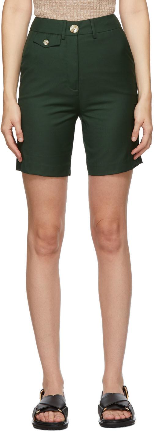Green Patsy Shorts