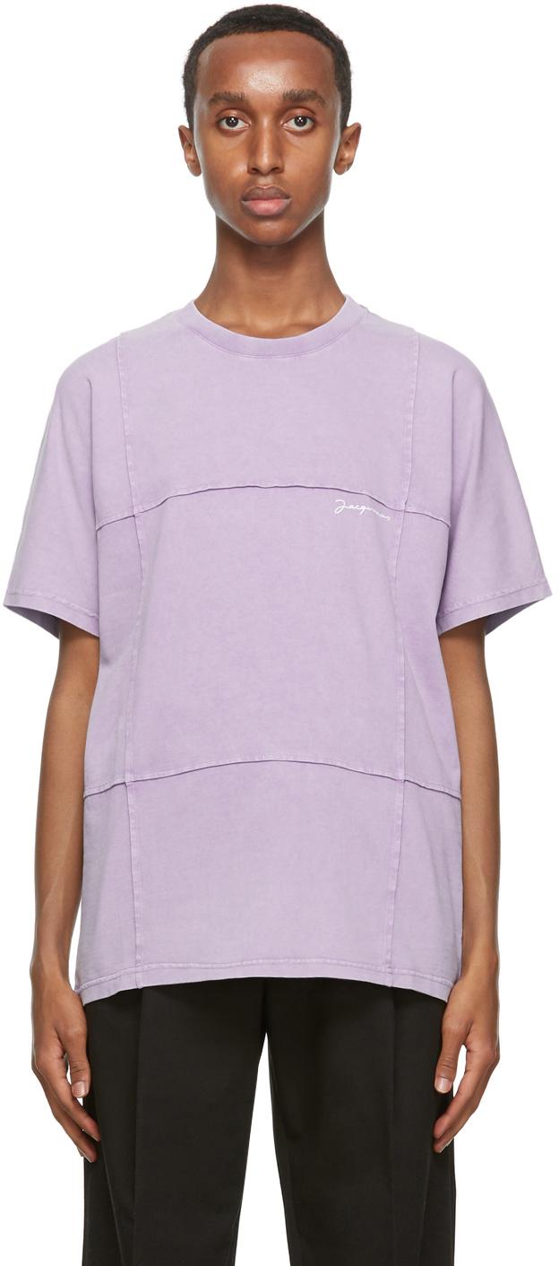 Jacquemus パープル Le T-Shirt Carro T シャツ
