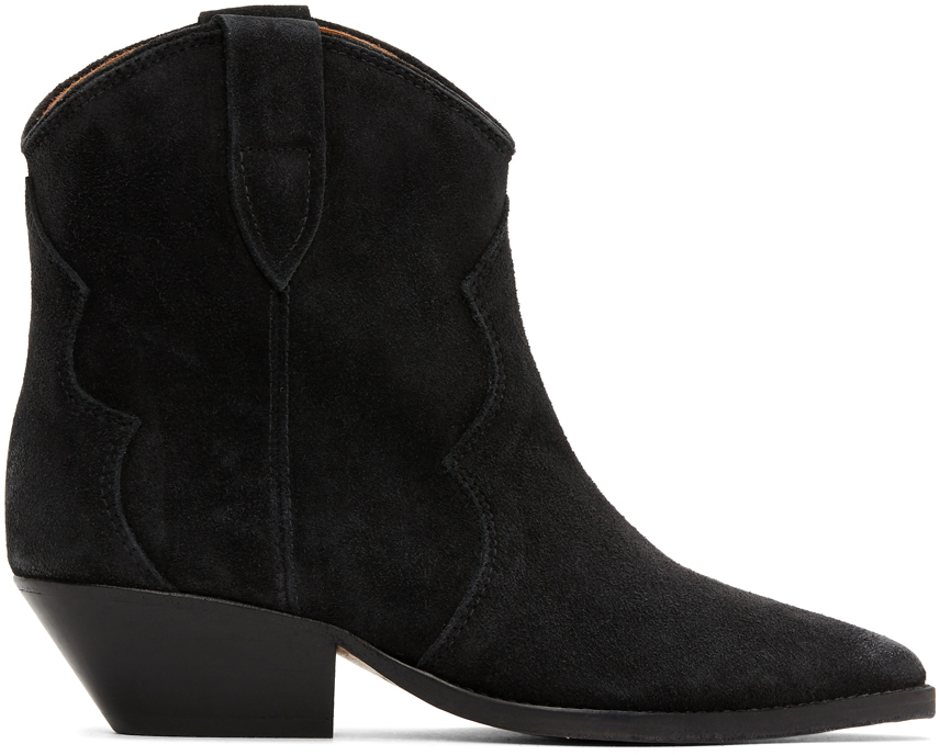 Black Dewina Boots