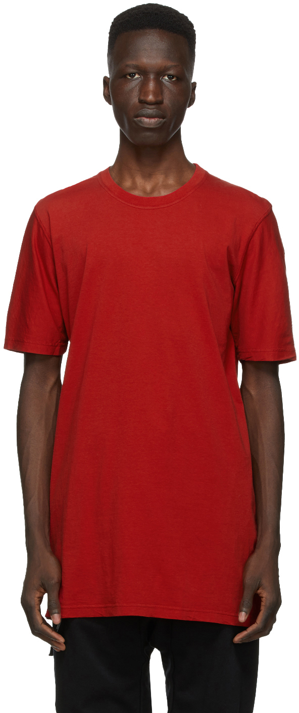 11 by Boris Bidjan Saberi Red Dye T Shirt 202610M213025