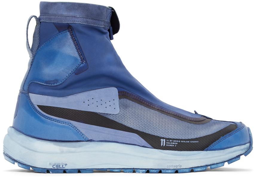 11 by Boris Bidjan Saberi Blue Salomon Edition Bamba 2 High Sneakers 202610M236046