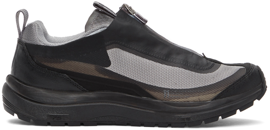 11 by Boris Bidjan Saberi Grey Salomon Edition Bamba 2 Low Sneakers 202610M237048