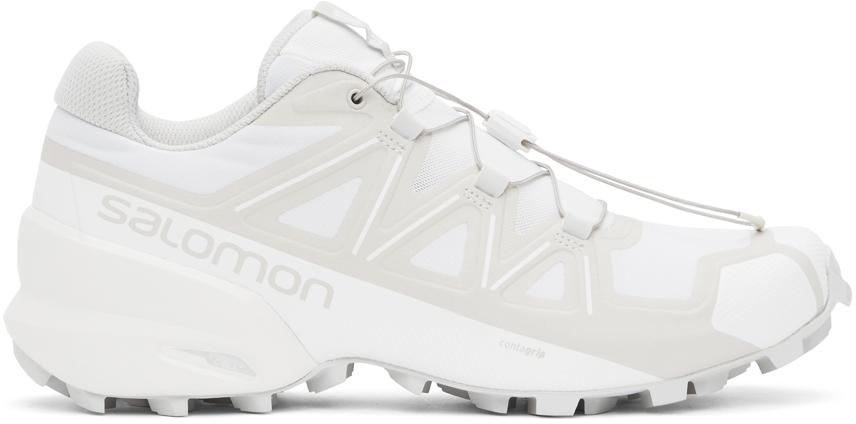 11 by Boris Bidjan Saberi White Salomon Edition Bamba 1X Low Sneakers 202610M237064