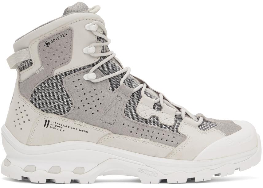 11 by Boris Bidjan Saberi Grey Salomon Edition Boot2 GTX Boots 202610M255058