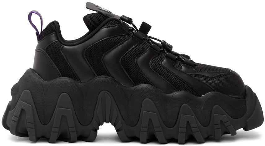 Eytys: Black Halo Sneakers | SSENSE Canada