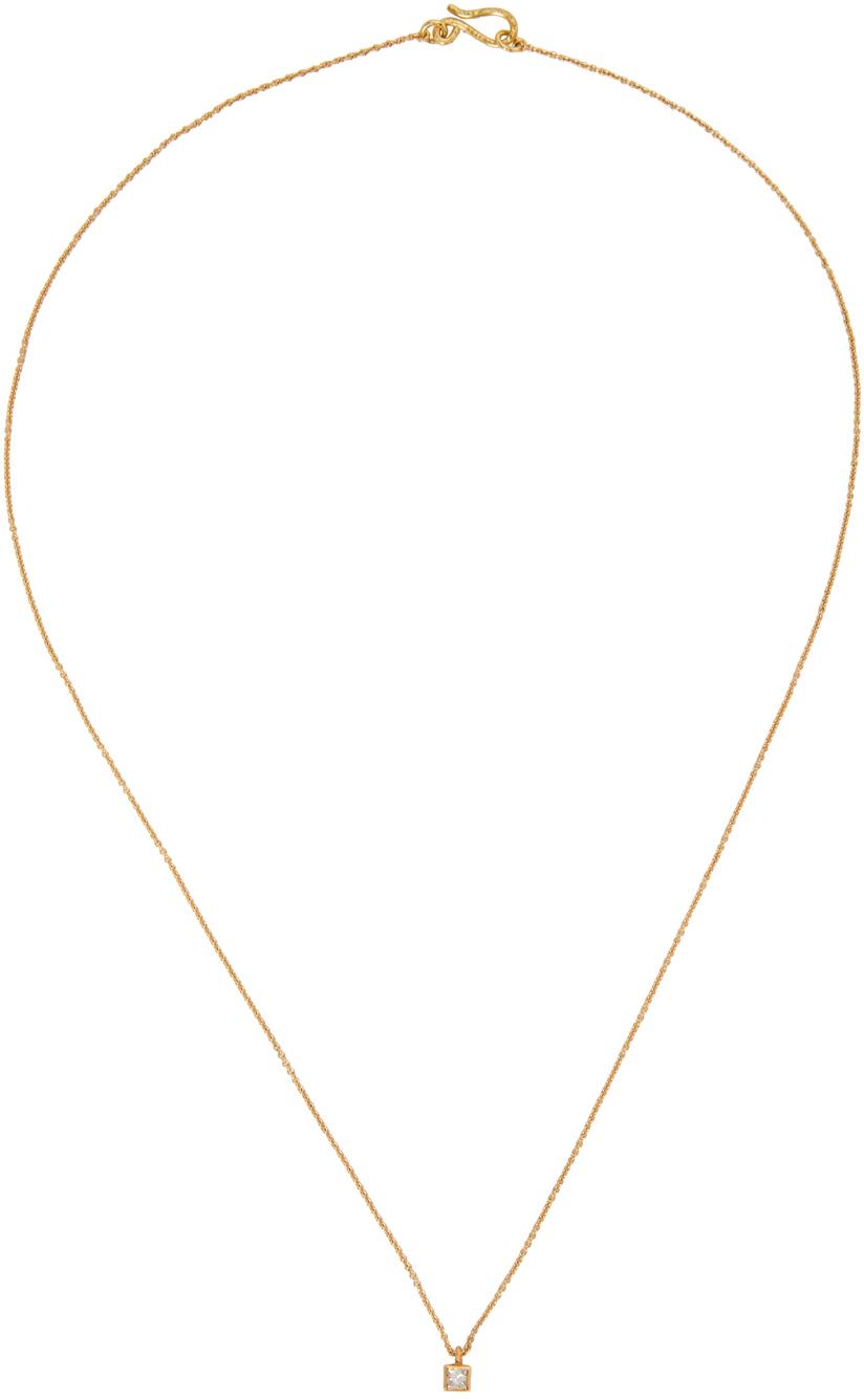 Gold VVS Diamond Roxy Finest Classic Necklace