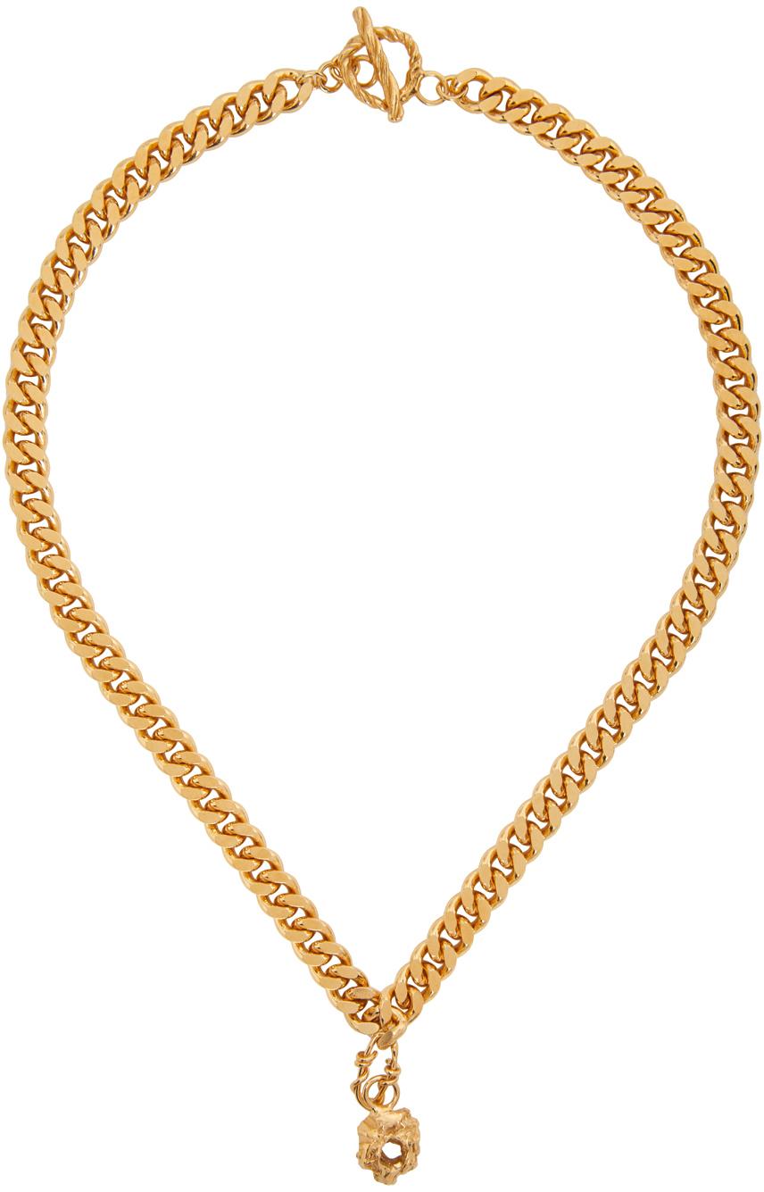 Gold Elvira Necklace