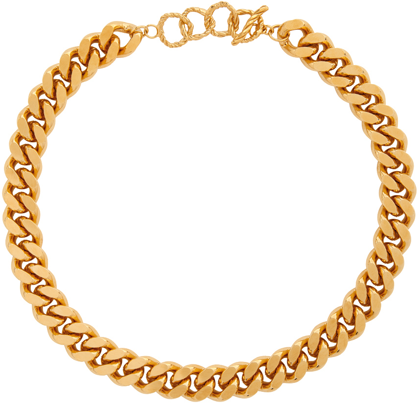 Gold Charley Necklace