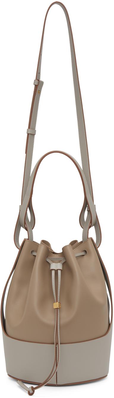 Loewe Grey & Taupe Balloon Bag