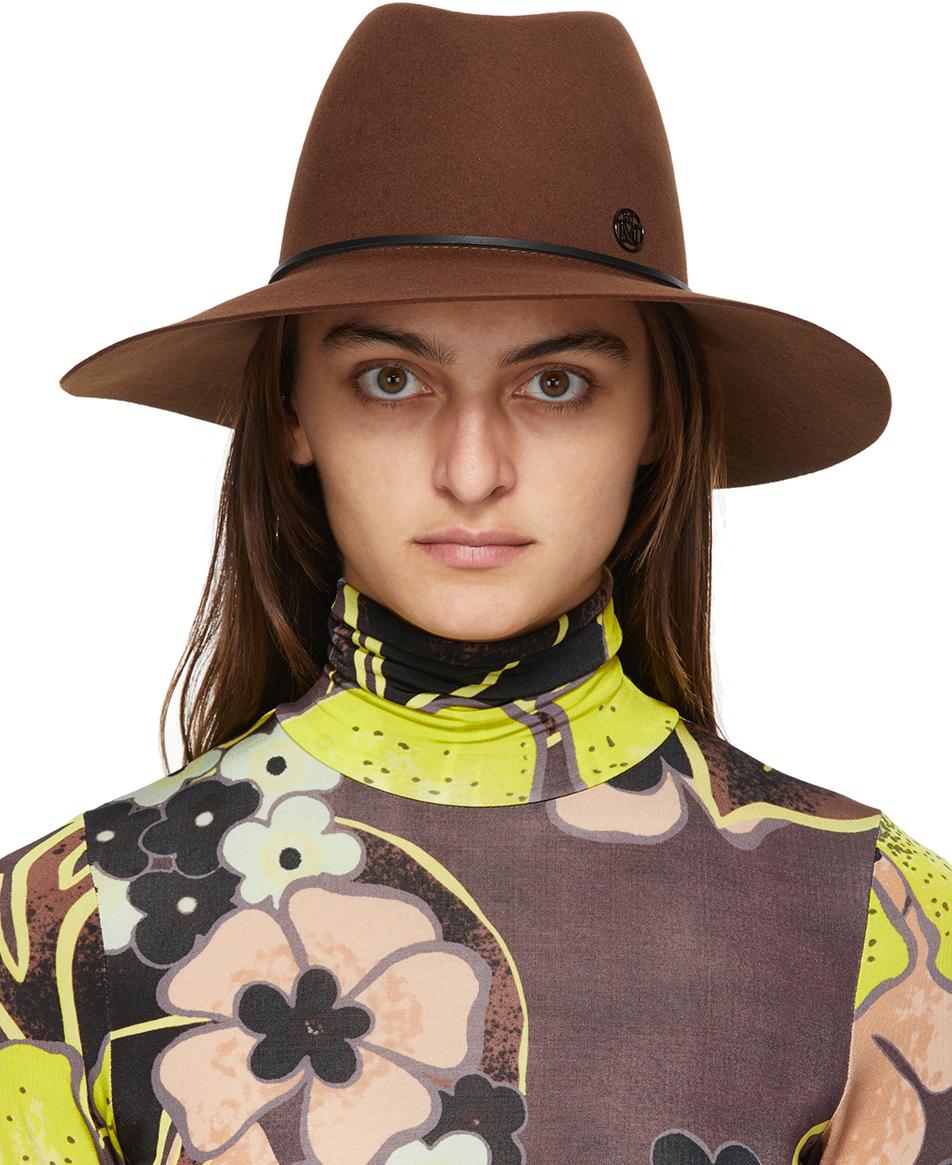 Brown Kate Panama Hat