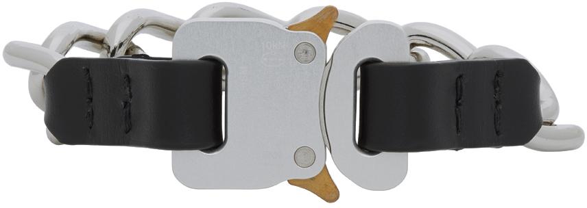 1017 ALYX 9SM Silver Buckle Bracelet 202776M142118