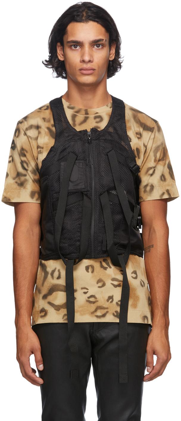 1017 ALYX 9SM Black Mesh Tactical Vest 202776M185003