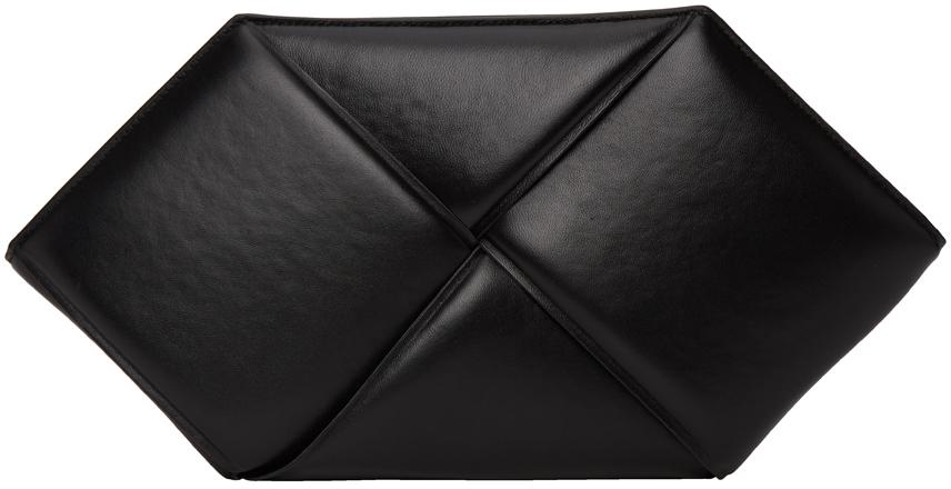 Black Hexagonal Pouch