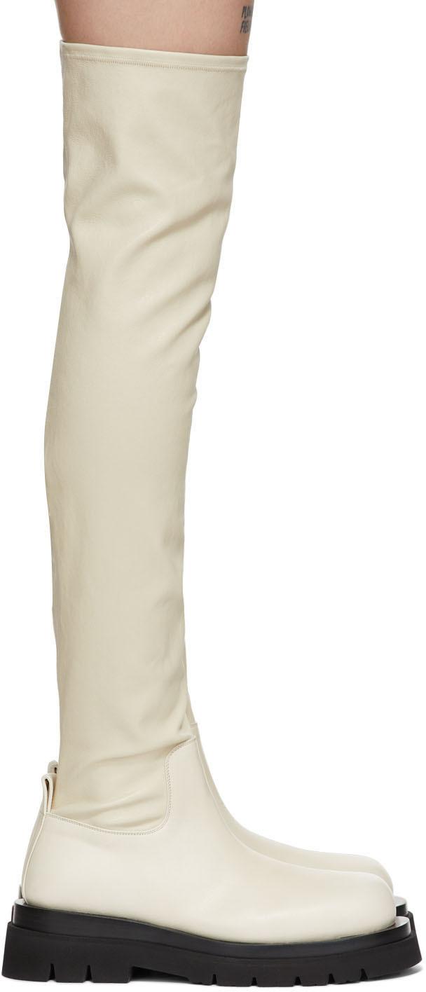 Off-White OTK Combat Tall Boots
