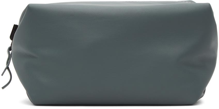Reversible Black & Grey Convertible Wash Pouch