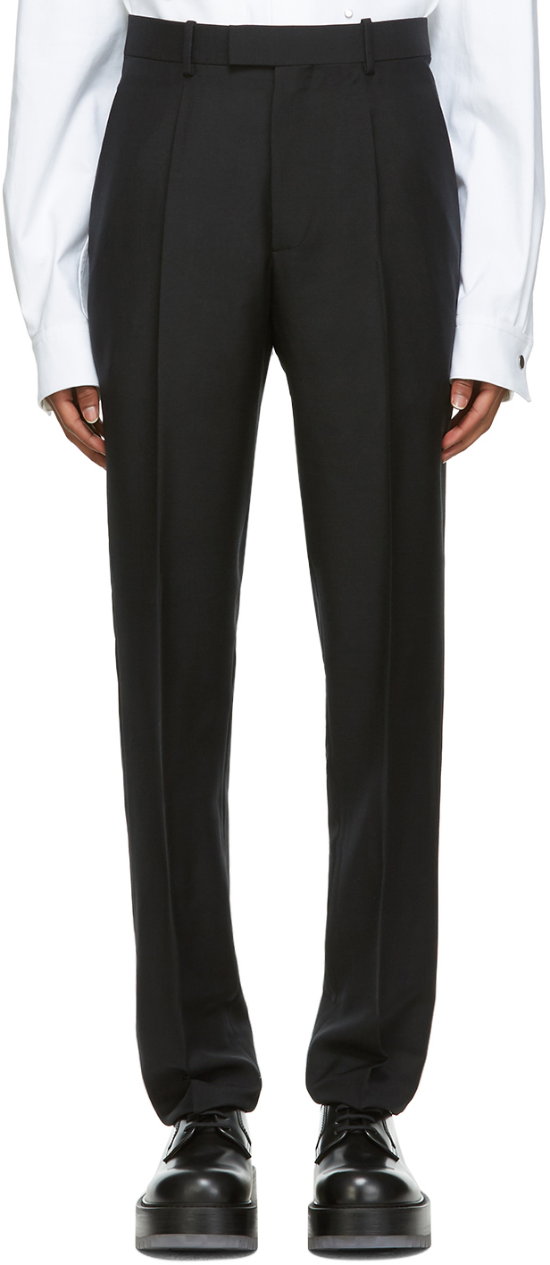 Bottega Veneta 黑色水洗长裤