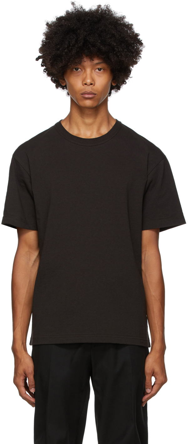 Bottega Veneta 棕色大廓形 T 恤
