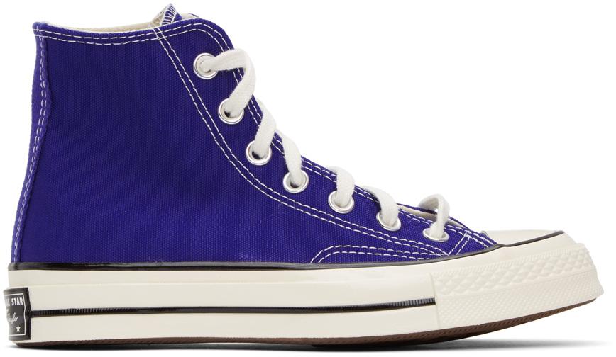 Converse 蓝色 Chuck 70 高帮运动鞋
