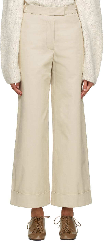 Beige Xio Trousers
