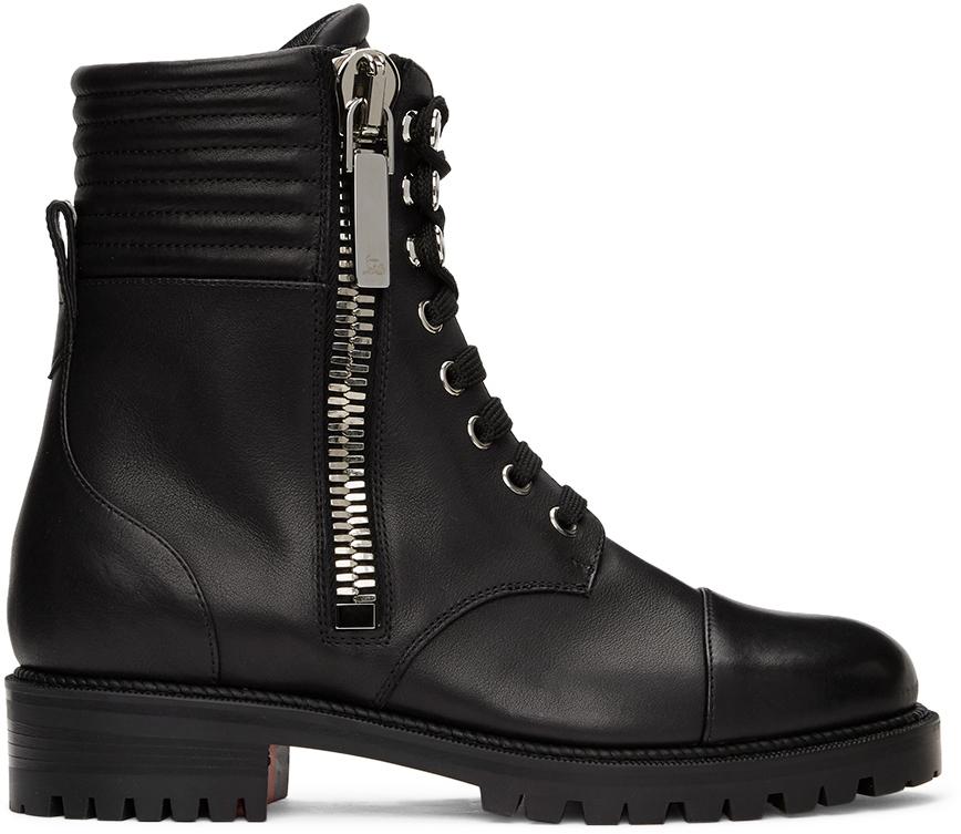Christian Louboutin 黑色 En Hiver 踝靴
