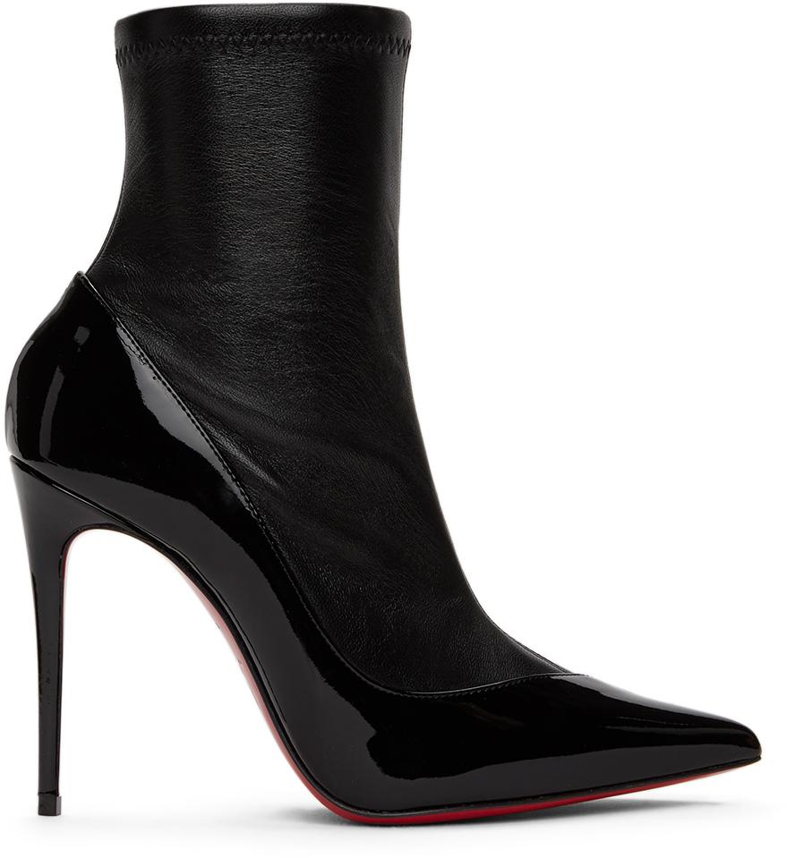 Christian Louboutin 黑色 Bibooty 踝靴