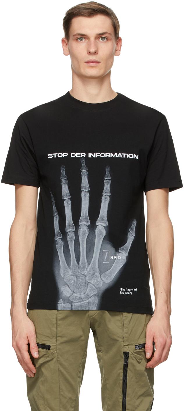 032c Black Die Todliche Doris Edition Stopp T Shirt 202843M213008