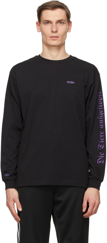 032c Black Die Todliche Doris Edition Visit Berlin Long Sleeve T Shirt 202843M213010