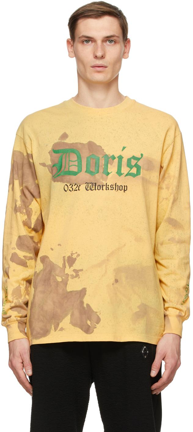 032c Beige Die Todliche Doris Edition Bleach Amateur Long Sleeve T Shirt 202843M213014