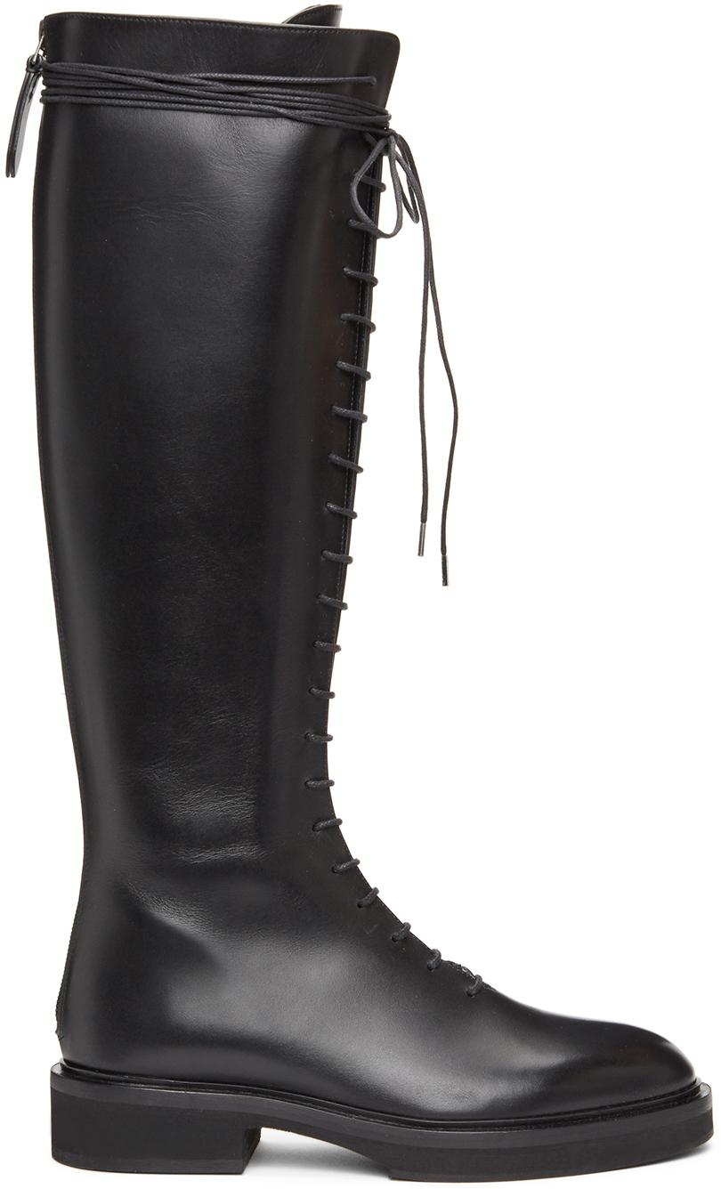 Khaite 黑色 The York 高筒靴