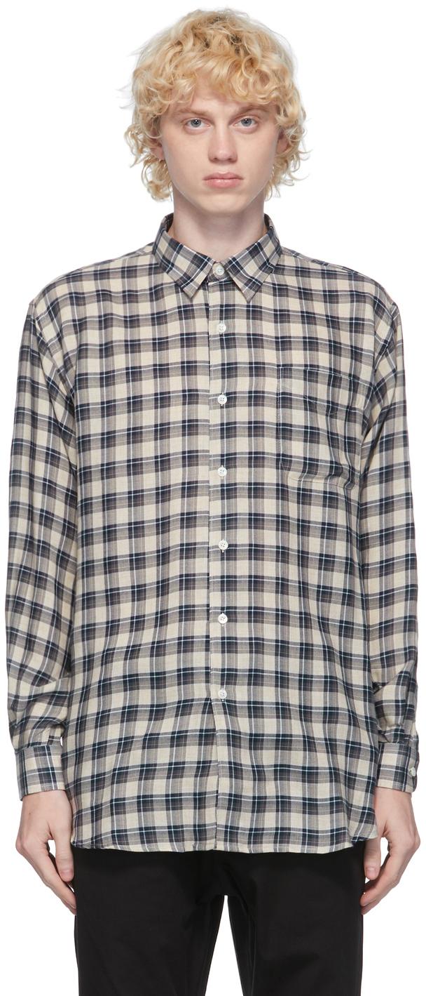 HOPE Navy Pocket Shirt
