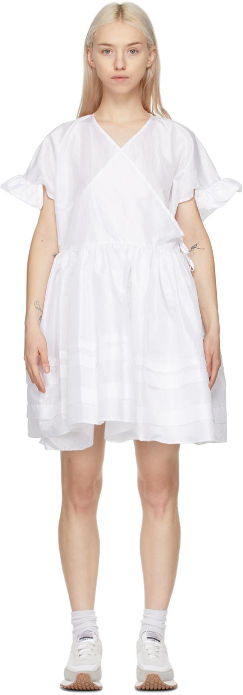 White Prisca Dress