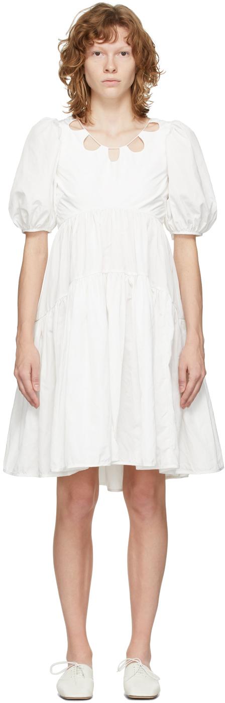 White Harriet Dress