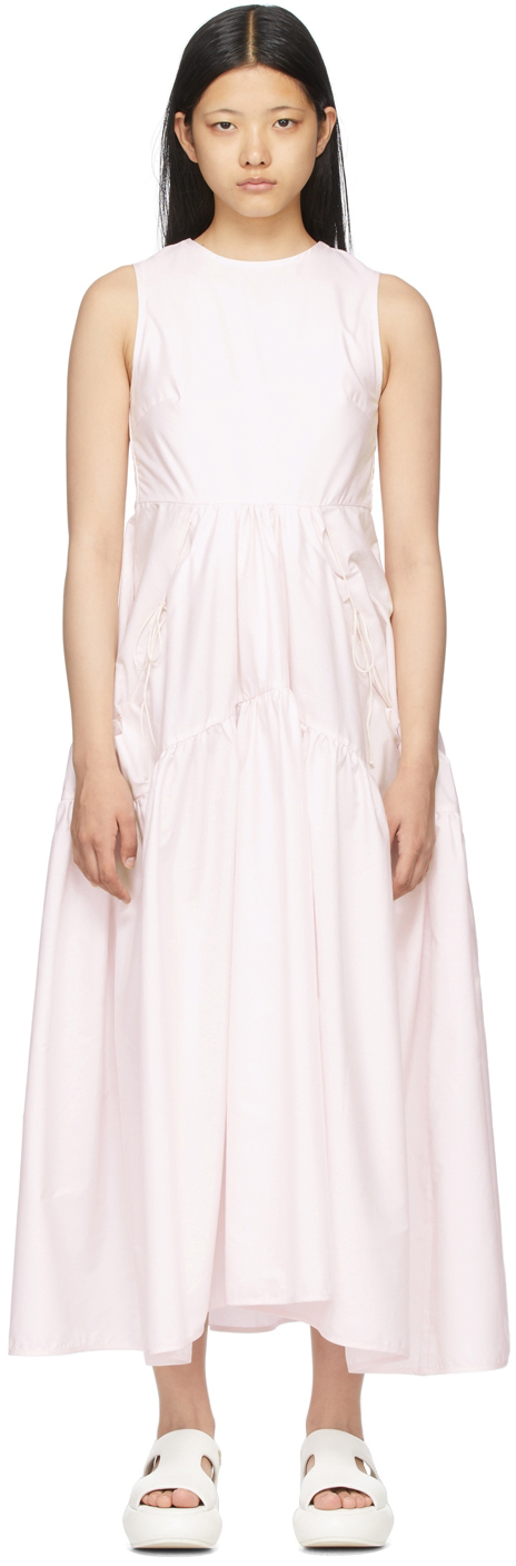 Pink Backless Hay Dress