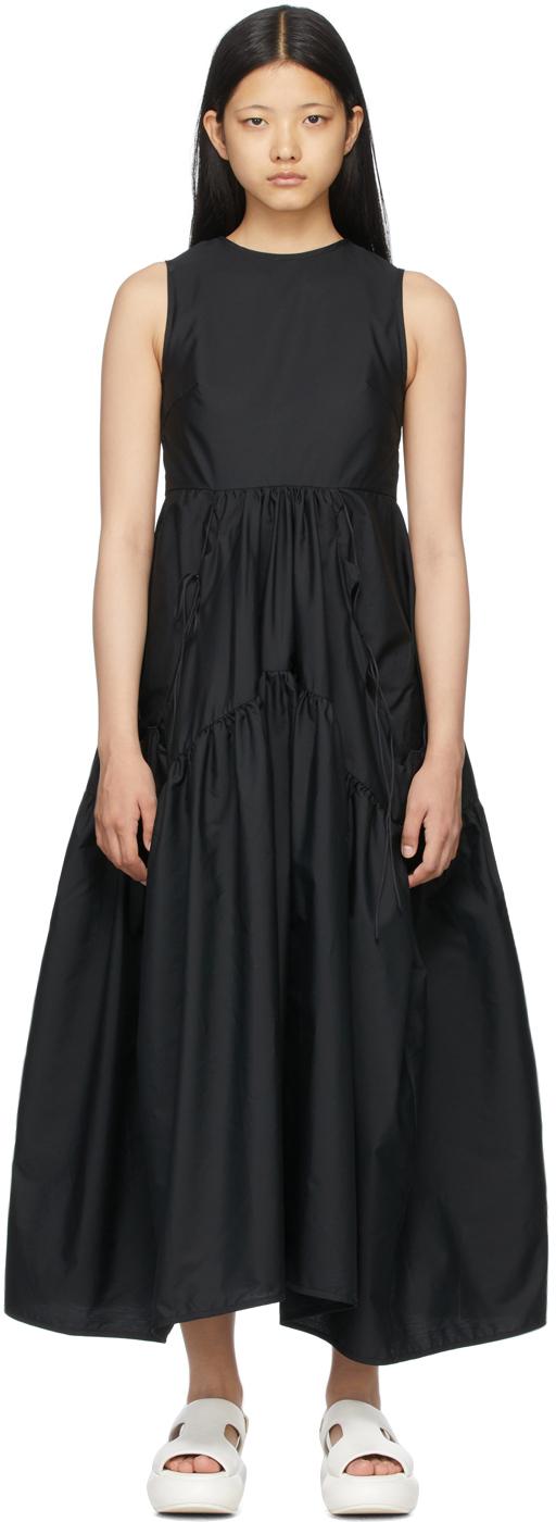 Black Backless Hay Dress