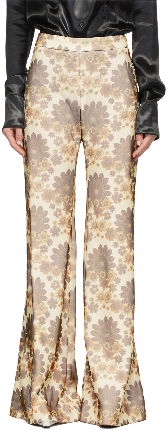 Off-White Floral Trousers