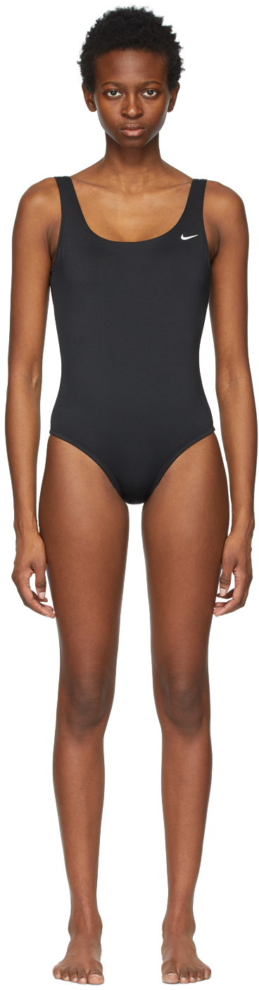 Nike Black Essential U-Back One-Piece Swimsuit
