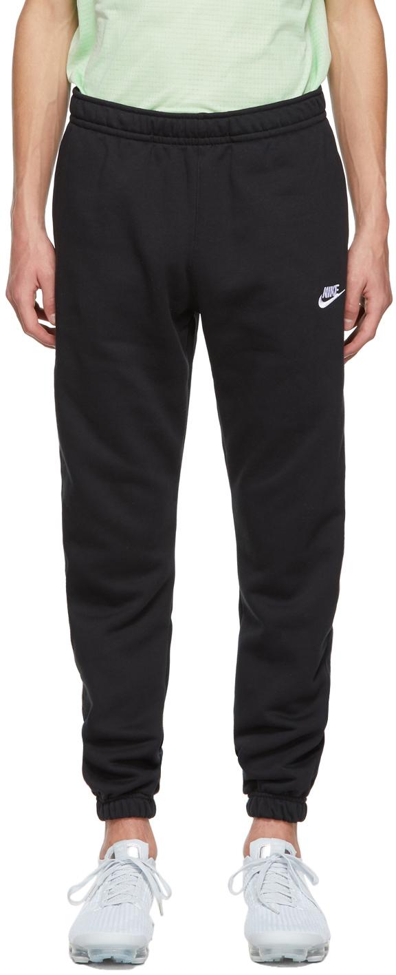 Black Sportswear Club Lounge Pants