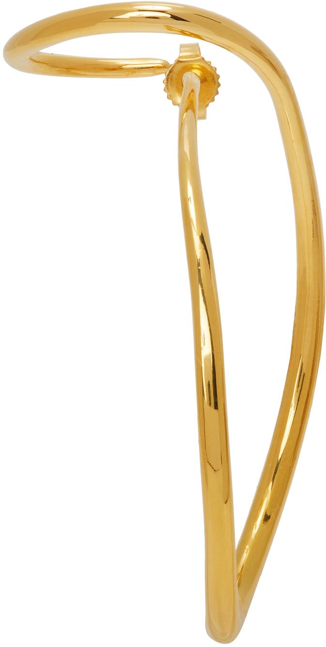 Gold Looping Earring