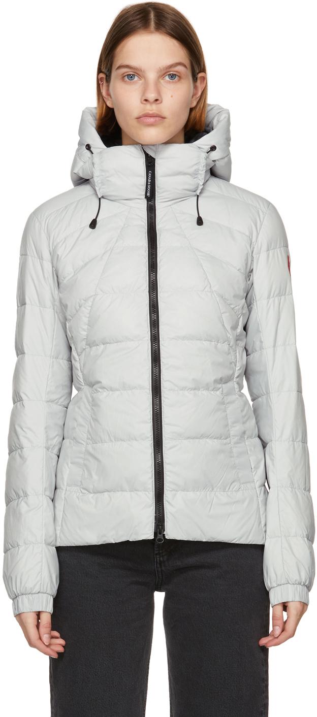 Grey Down Packable Abbott Jacket